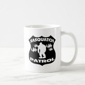 Sasquatch Patrol Forest Badge Mugs