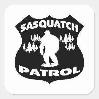 Sasquatch Patrol Forest Badge Stickers