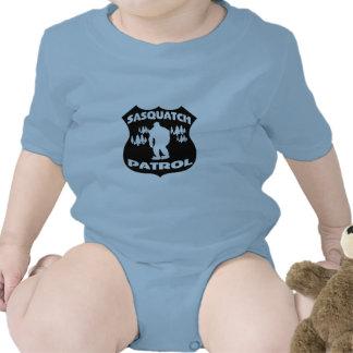 Sasquatch Patrol Forest Badge Baby Creeper