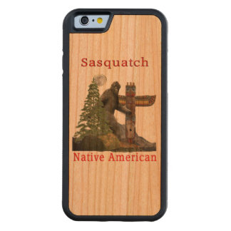 sasquatch products carved cherry iPhone 6 bumper case