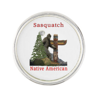 sasquatch products lapel pin
