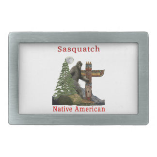 sasquatch products rectangular belt buckle
