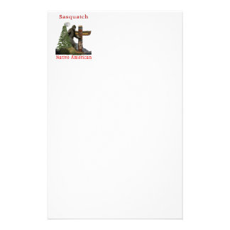 sasquatch products stationery