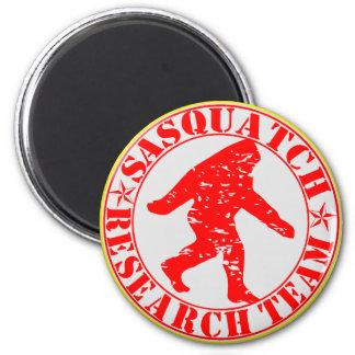 Sasquatch Research Team Magnet