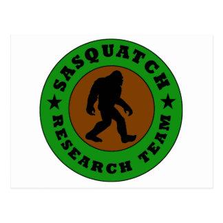 Sasquatch Research Team Postcard