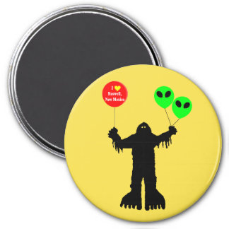 Sasquatch Sighted Roswell, New Mexico Magnet