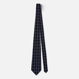 Sasquatch Silhouette Tie - Blue