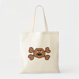 sasquatch Skull brown Crossbones Bags