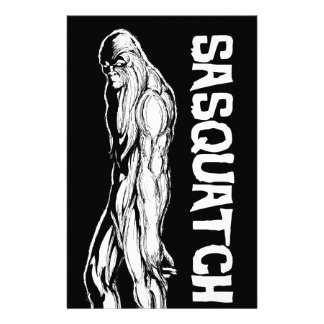 Sasquatch Stationery