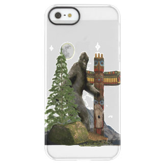 Sasquatch t-shirts permafrost® iPhone SE/5/5s case