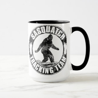 Sasquatch Tracking Team Mug