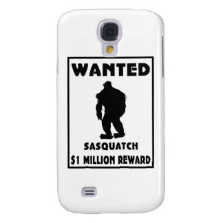 Sasquatch Wanted Poster Galaxy S4 Cases