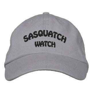 Sasquatch Watch Embroidered Cap