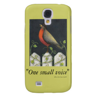"""sassafras, """"One small voice"""", author Sally Coup... Samsung Galaxy S4 Cases"""