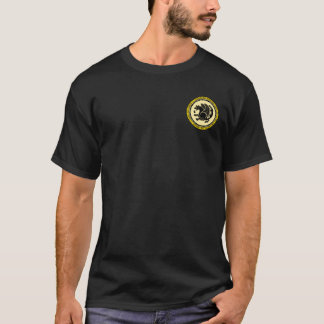 Sassanid Empire Black & Gold Seal Shirt