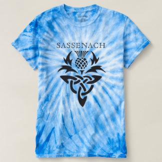 Sassenach - Celtic Thistle - custom T-Shirt