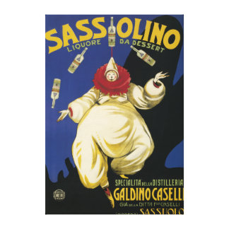 Sassolino Liquore da Dessert Promotional Stretched Canvas Print