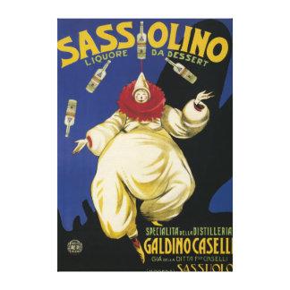 Sassolino Liquore da Dessert Promotional Canvas Prints