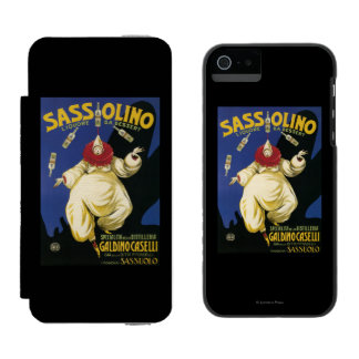Sassolino Liquore da Dessert Promotional Incipio Watson™ iPhone 5 Wallet Case