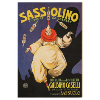 Sassolino Poster Wood Poster