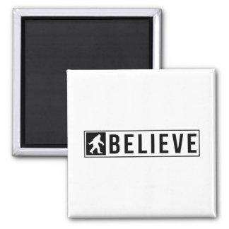 Sassquatch Believe Magnet