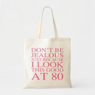 Sassy 80th Birthday For Women Tote Bag