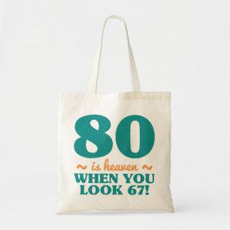 Sassy 80th Birthday Tote Bag