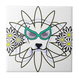Sassy Beagle Ceramic Tile