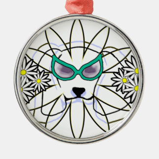 Sassy Beagle Metal Ornament