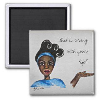 Sassy Black Woman Magnet