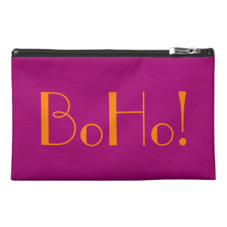 Sassy BoHo Flirt Pink Bagettes Tote Travel Accessory Bags