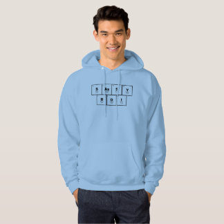"""""""Sassy Boi"""" Periodic table of elements hoodie"""