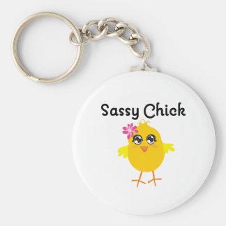 Sassy Chick Keychains