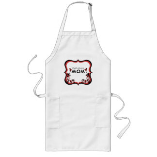 Sassy Floral World's Greatest Mom Apron