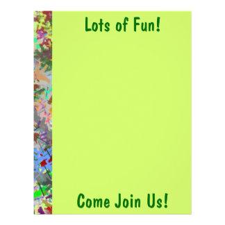 Sassy Fun Color Maze Sissy Girl Camo Colorful Girl Full Color Flyer