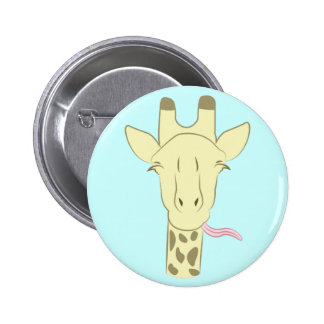 Sassy Giraffe Button