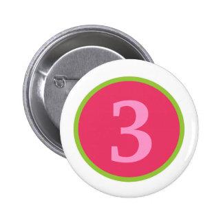 Sassy Girl Personalized Birthday Button
