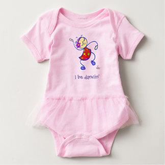 SASSY I Be Dancing 100% cotton toddler dress
