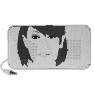 Sassy Lady Filtered Notebook Speakers