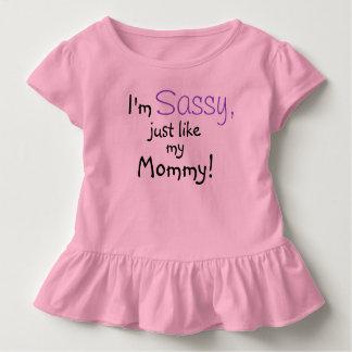 Sassy Like Mommy Toddler Girl Shirt Customize