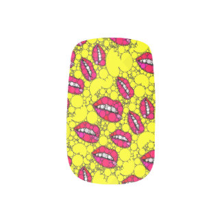 Sassy Lips Bling Minx Minx Nail Art
