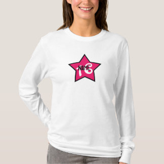 Sassy Personalized Sweet Sixteen T-Shirt
