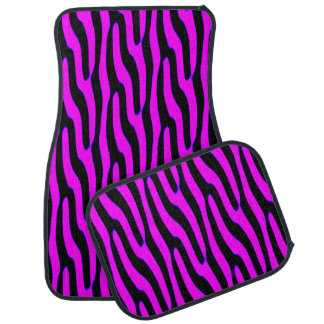 Sassy Pink Wild Animal Print Car Mat
