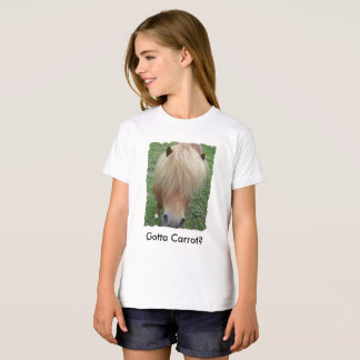 Sassy Pony Wants a Carrot, Kids Organic Tee