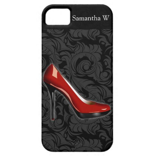 Sassy Red Shoe iPhone 5 Cover