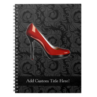 Sassy Red Shoe Notebook
