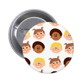 Sassy Retro Kiddos 6 Cm Round Badge