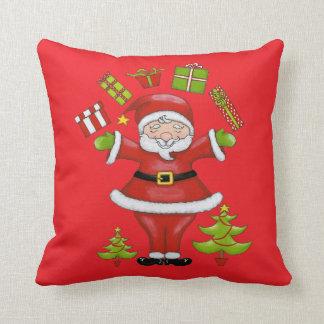 Sassy Santa Cushion