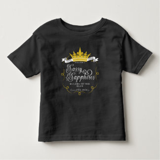 SASSY SAPPHIRES: FRONT LOGO TODDLER T-Shirt