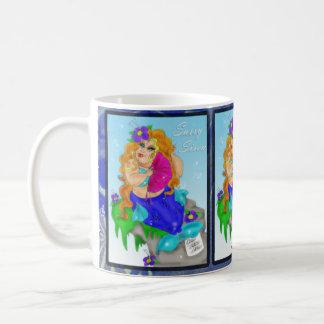 """""""Sassy Siren"""" Chubby Mermaid Diva Mug"""